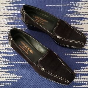 DONALD J PLINER mule-style platform heels